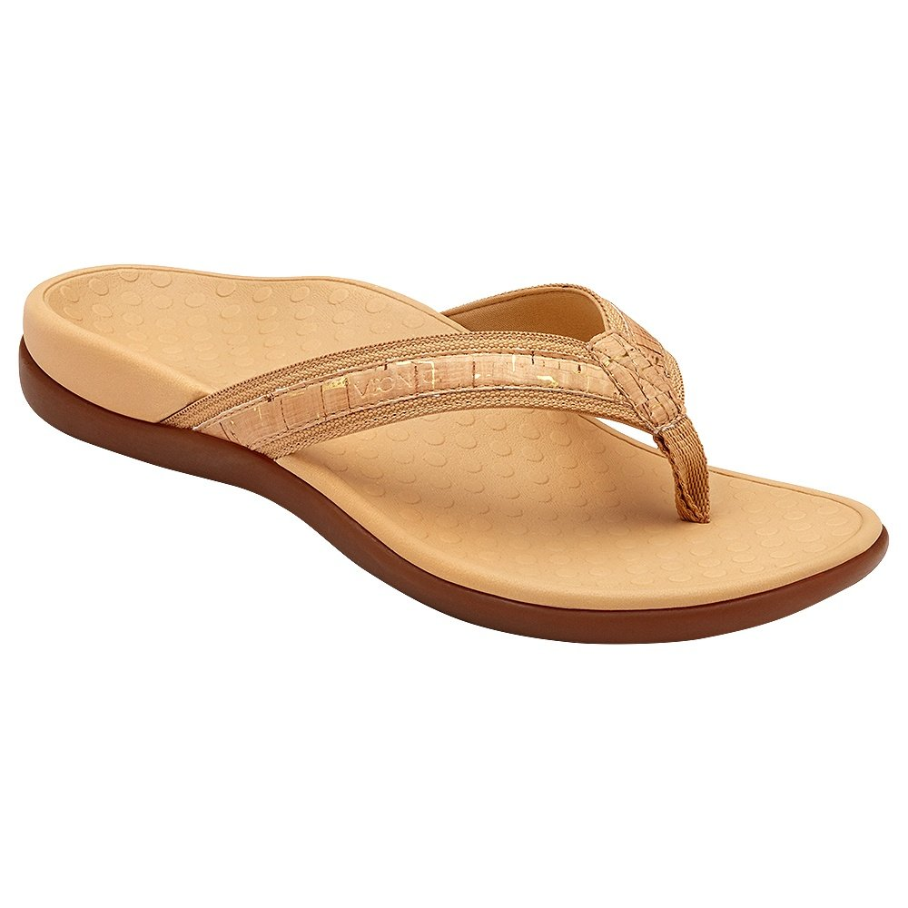 Vionic Tide II Sandal (Women's) - Gold/Cork