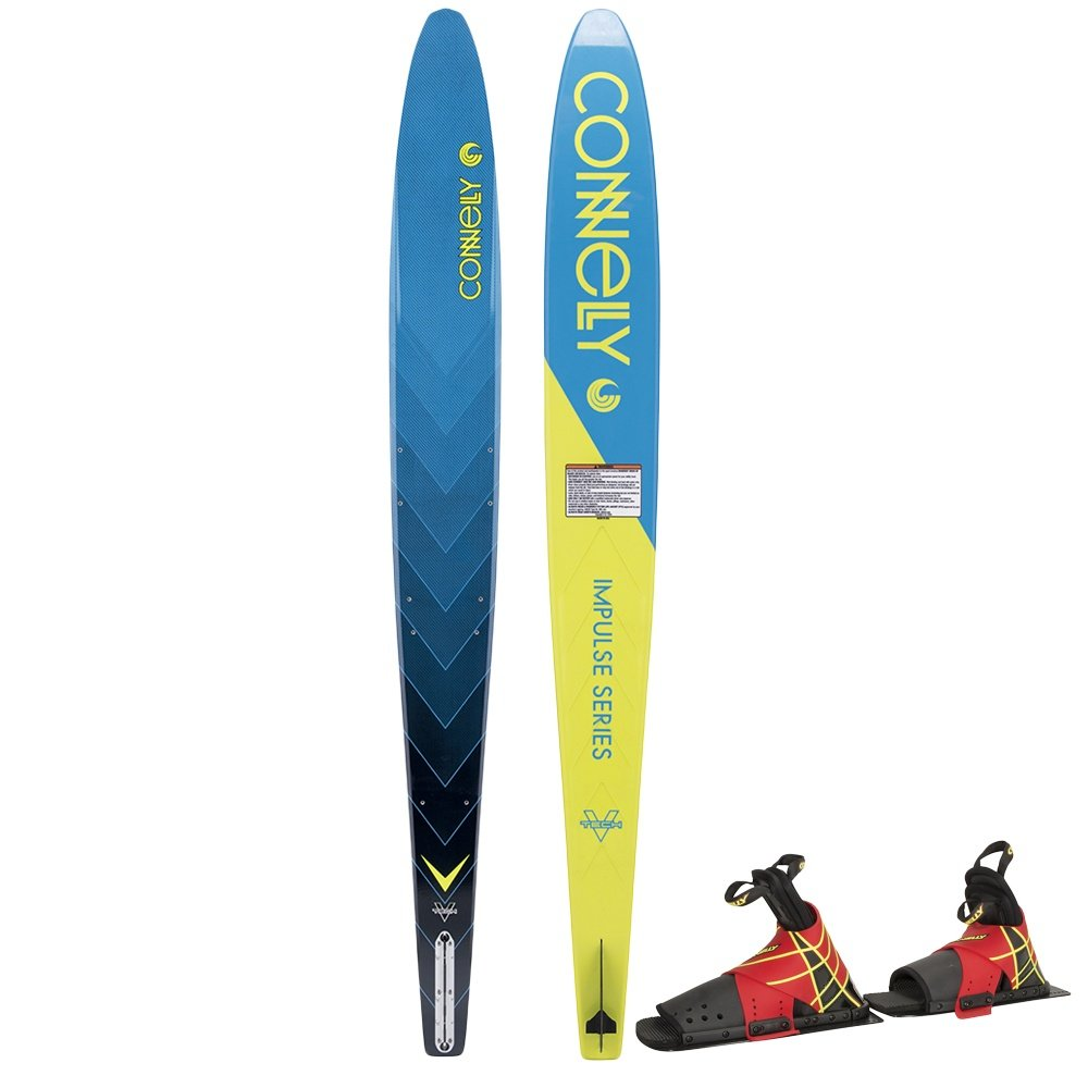 """Connelly 67"""" V Slalom Waterski with Stoker Binding and Rear Toe Piece (Men's)  -"""