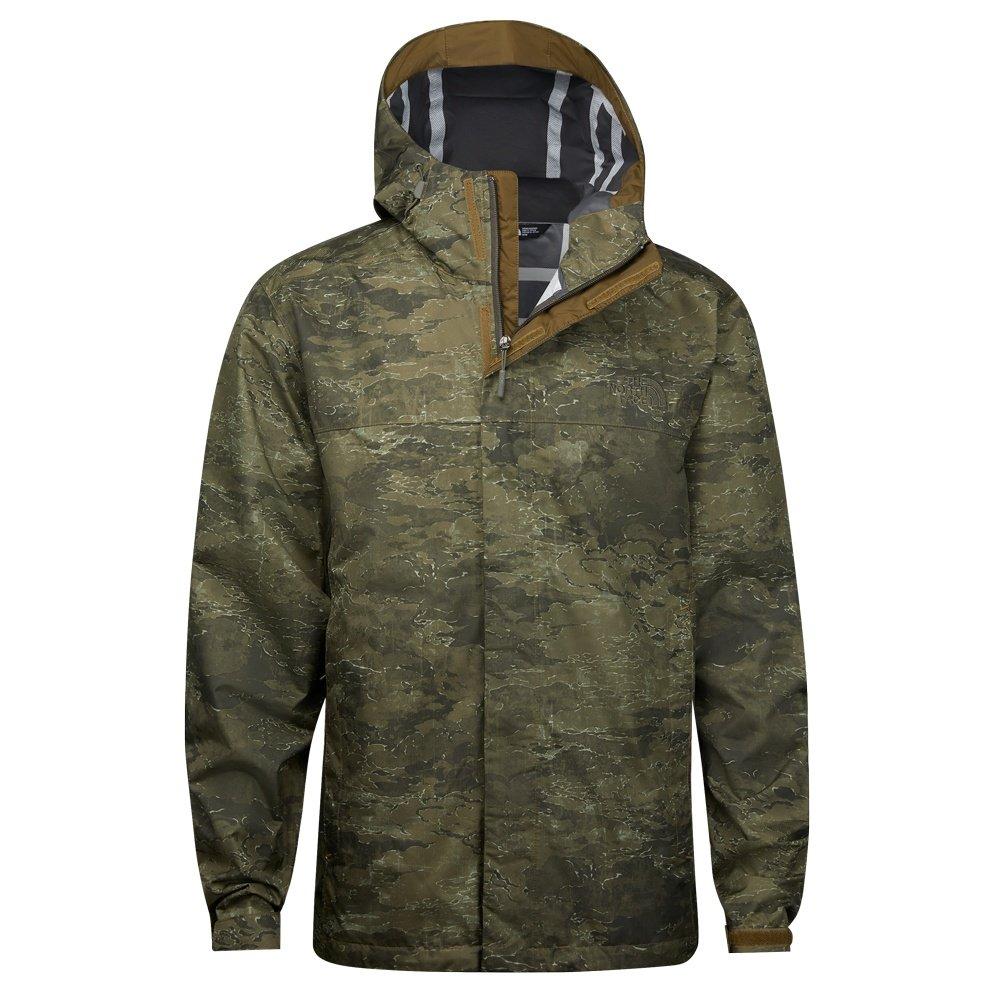 The North Face Venture 2 Rain Jacket (Men's) - Military Olive Cloud Camo