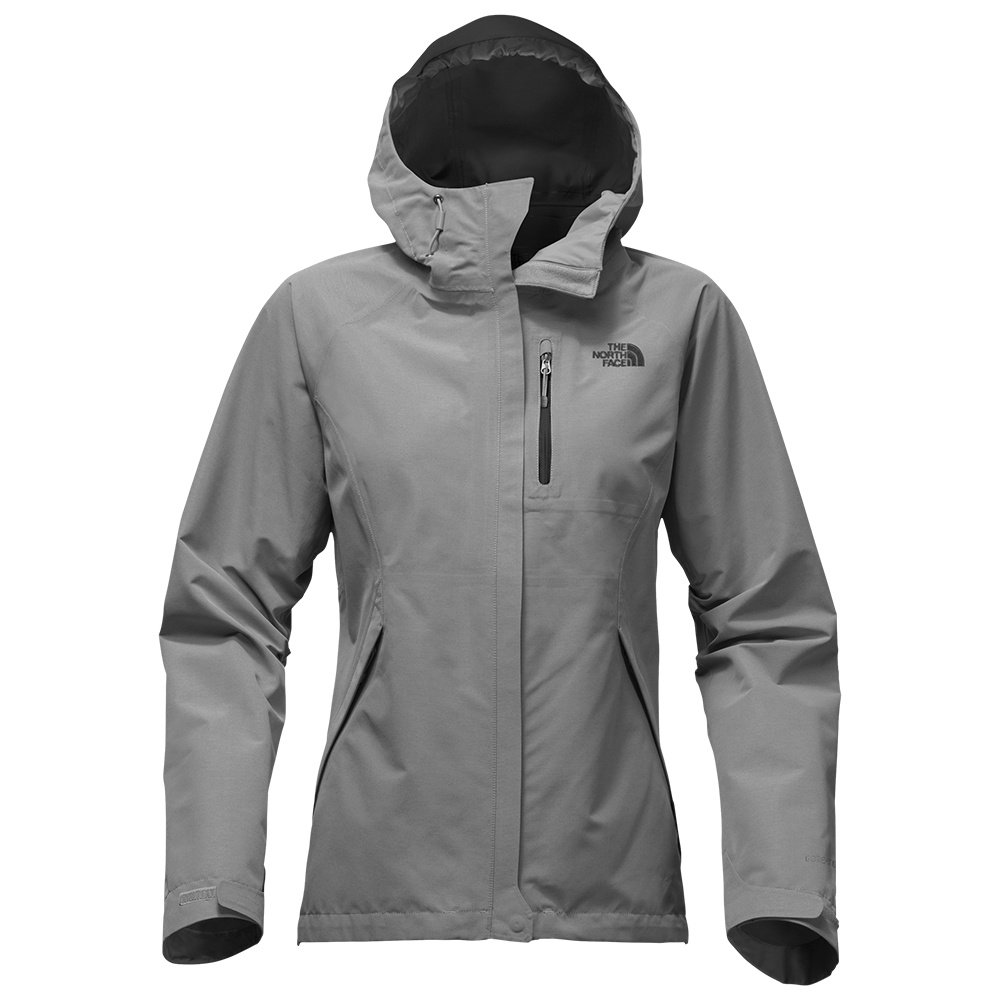 The North Face GORE-TEX Dryzzle Rain Jacket (Women's) - TNF Medium Heather Grey
