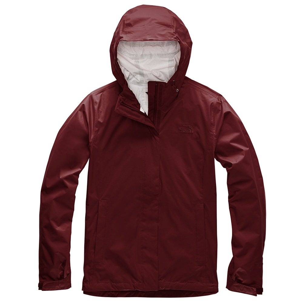 The North Face Venture 2 Rain Jacket (Women's) - Deep Garnet Red