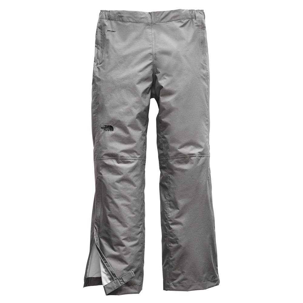 The North Face Venture 2 Half Zip Rain Pant (Women's) - TNF Medium Grey Heather/TNF Black