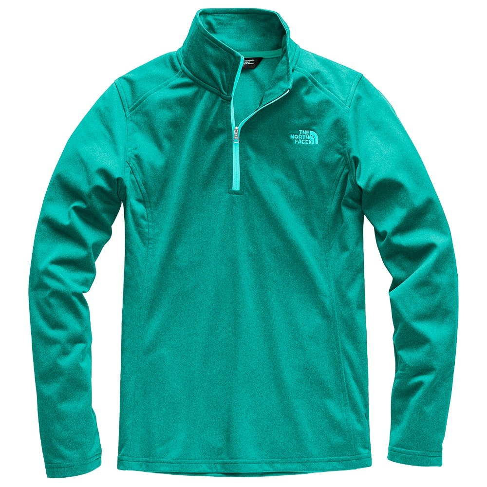 The North Face Tech Glacier Half Zip Sweater (Women's) - Kokomo Green