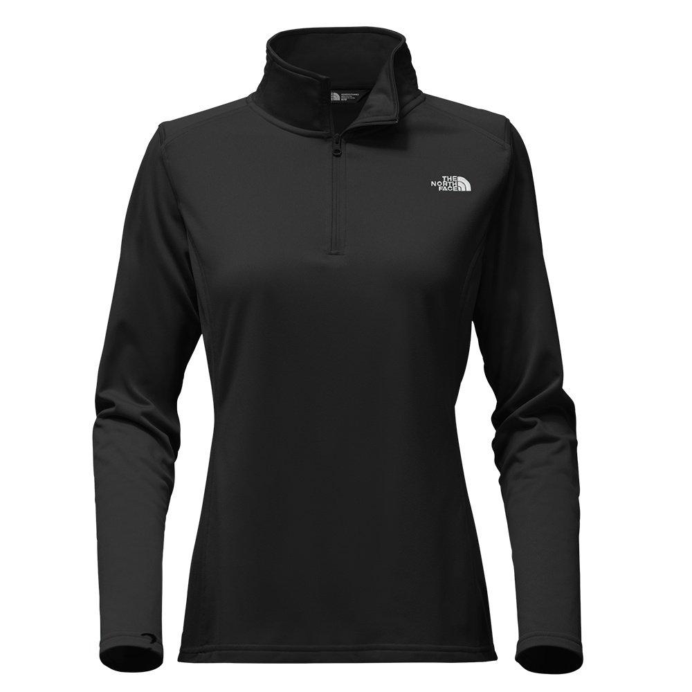 The North Face Tech Glacier Half Zip Sweater (Women's) - TNF Black