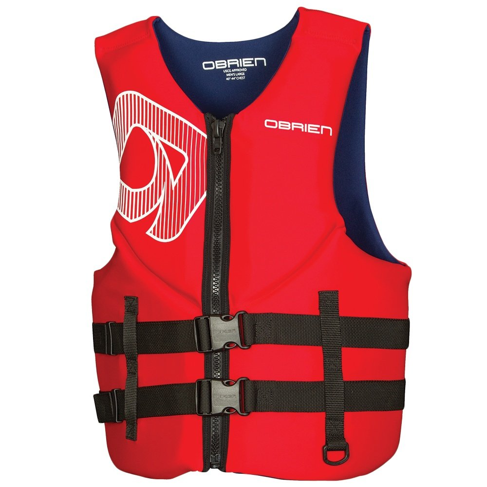 O'Brien Traditional Biolite Life Jacket (Men's) - Red