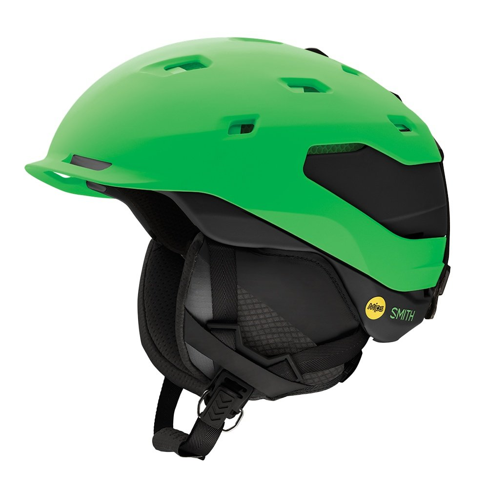 Smith Quantum MIPS Helmet (Men's) - Matte Reactor Green