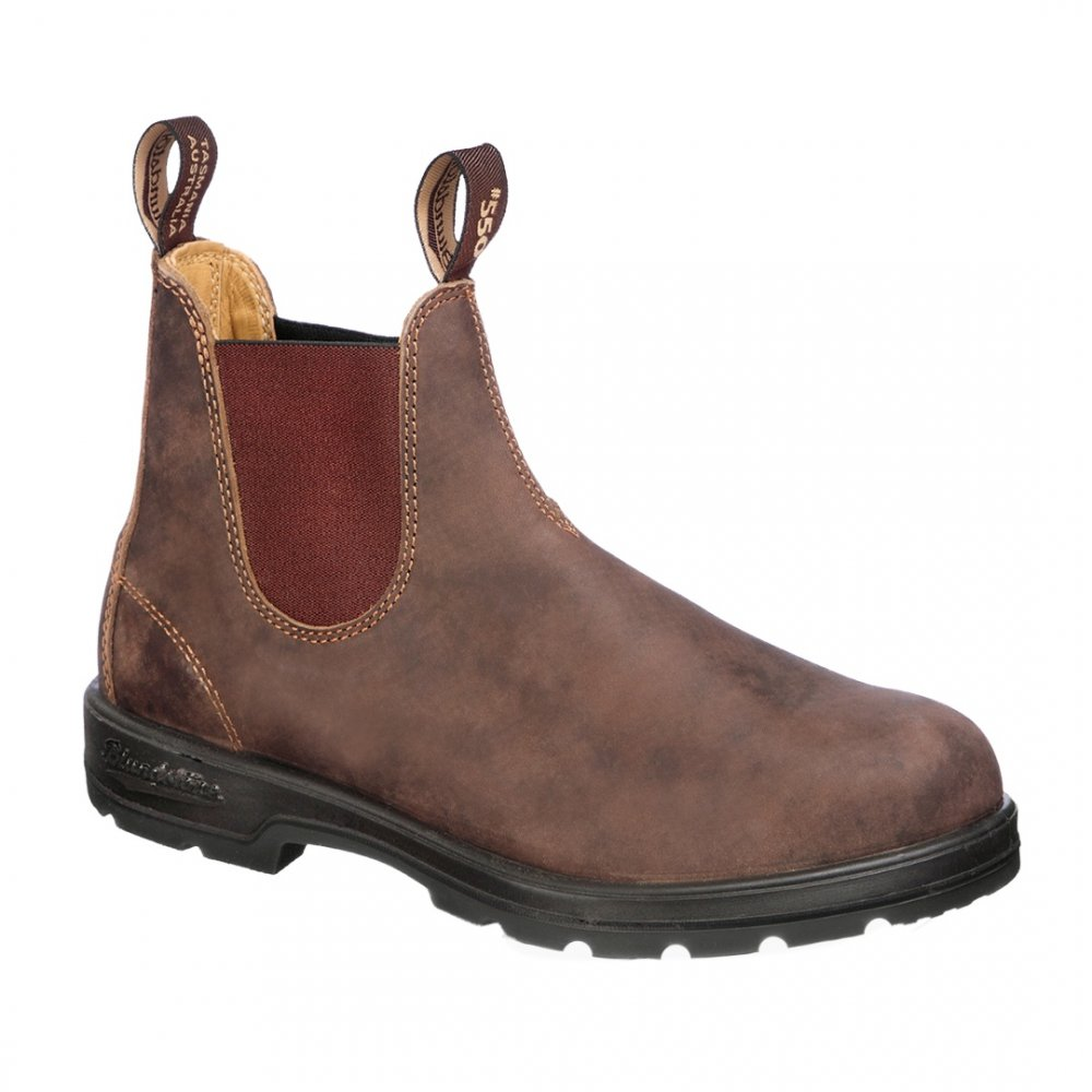 Blundstone Super 550 Series Boot (Adults') - Rustic Brown
