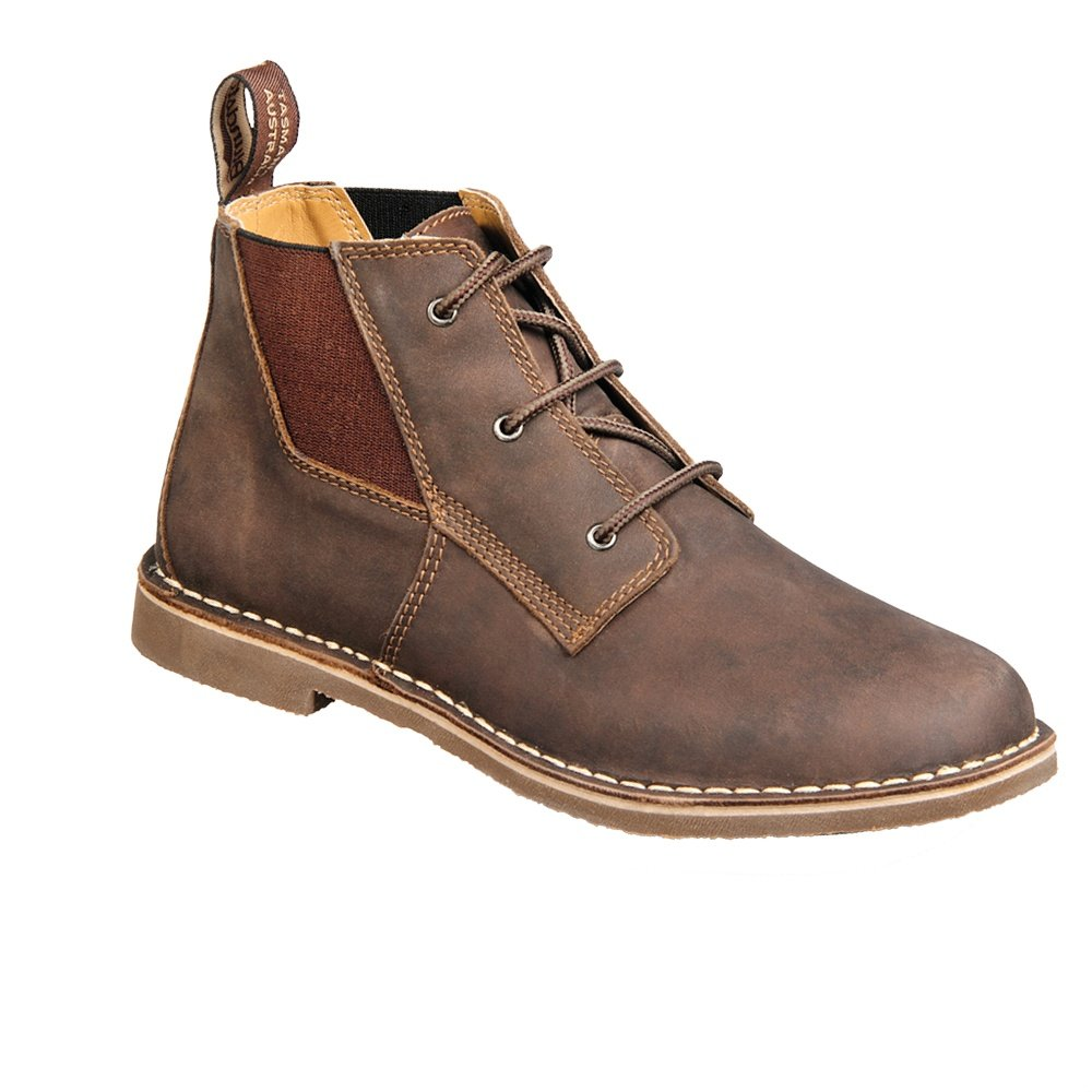 Blundstone Casual Series Lace Up Boot (Men's) - Rustic Brown