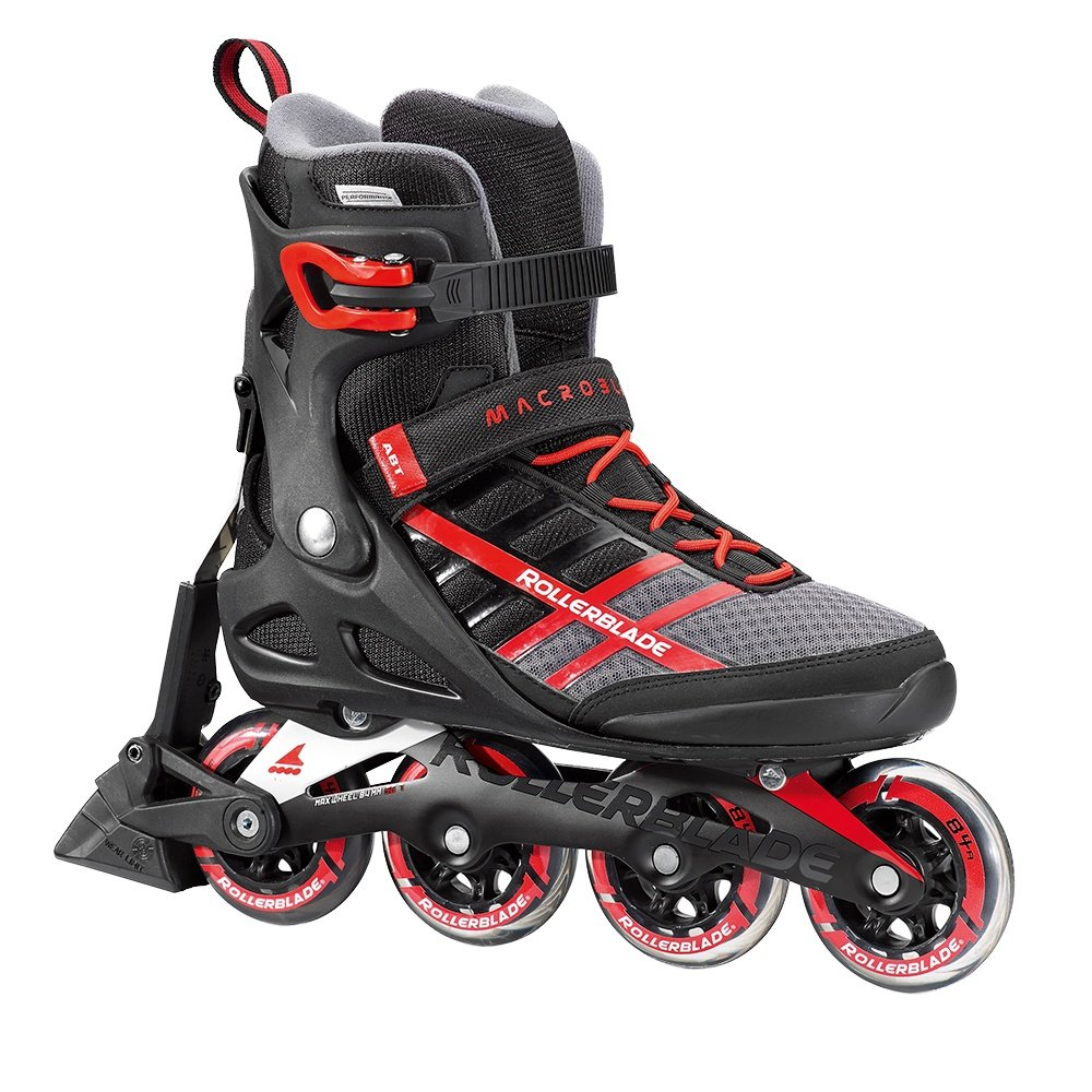 Rollerblade Macroblade 84 ABT Inline Skates (Men's) - Black/Red