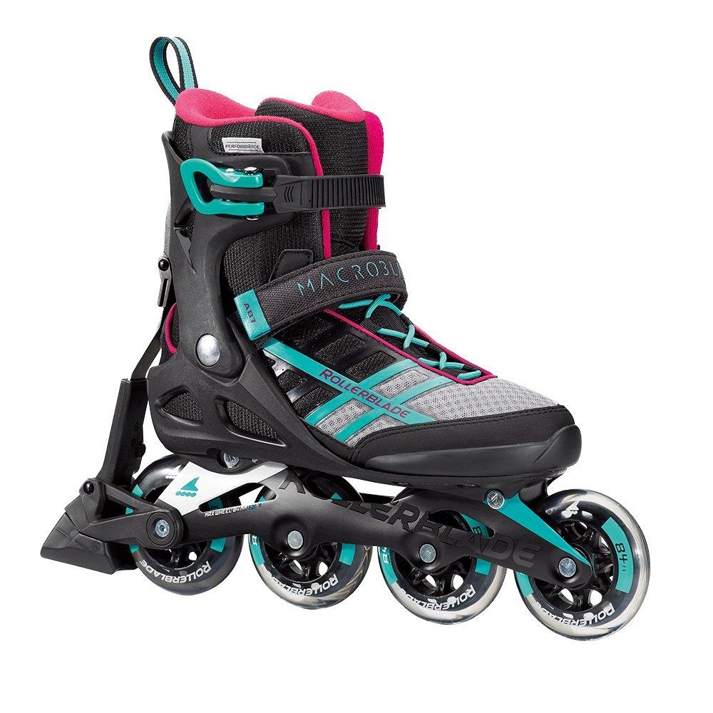 Rollerblade Macroblade 84 ABT Inline Skates (Women's) - Emerald Green/Cherry