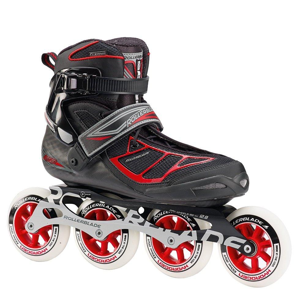 Rollerblade Tempest 100C Inline Skates (Men's) - Black/Red