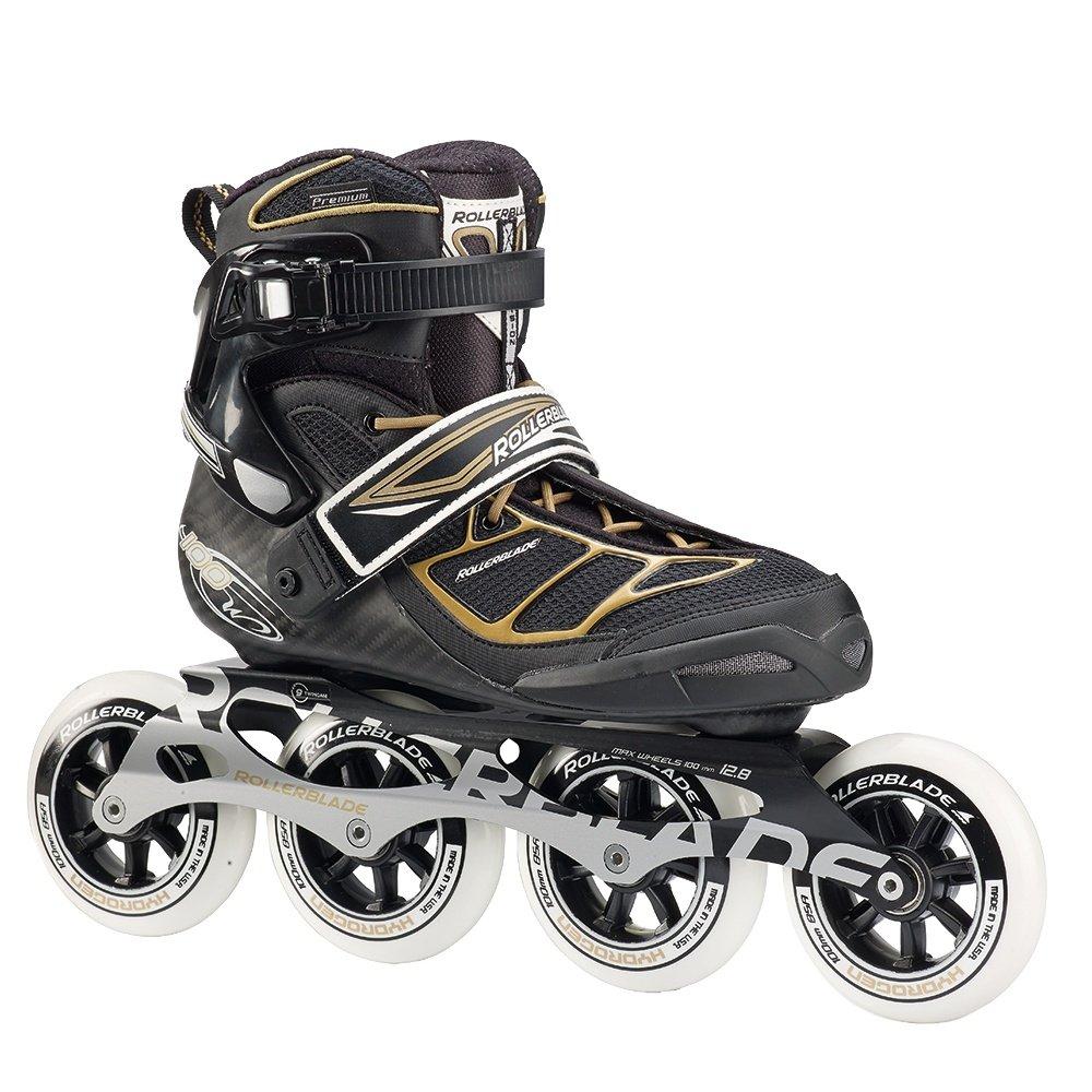Rollerblade Tempest 100C Inline Skates (Women's) - Black/Gold