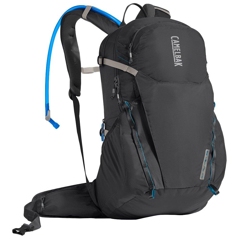 CamelBak Rim Runner 22 Hydration Backpack - Charcoal/Grecian Blue