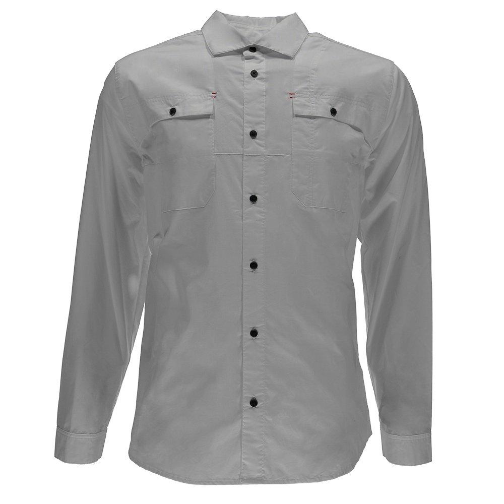Spyder Crucial L/S Button Down Shirt (Men's) - Cirrus