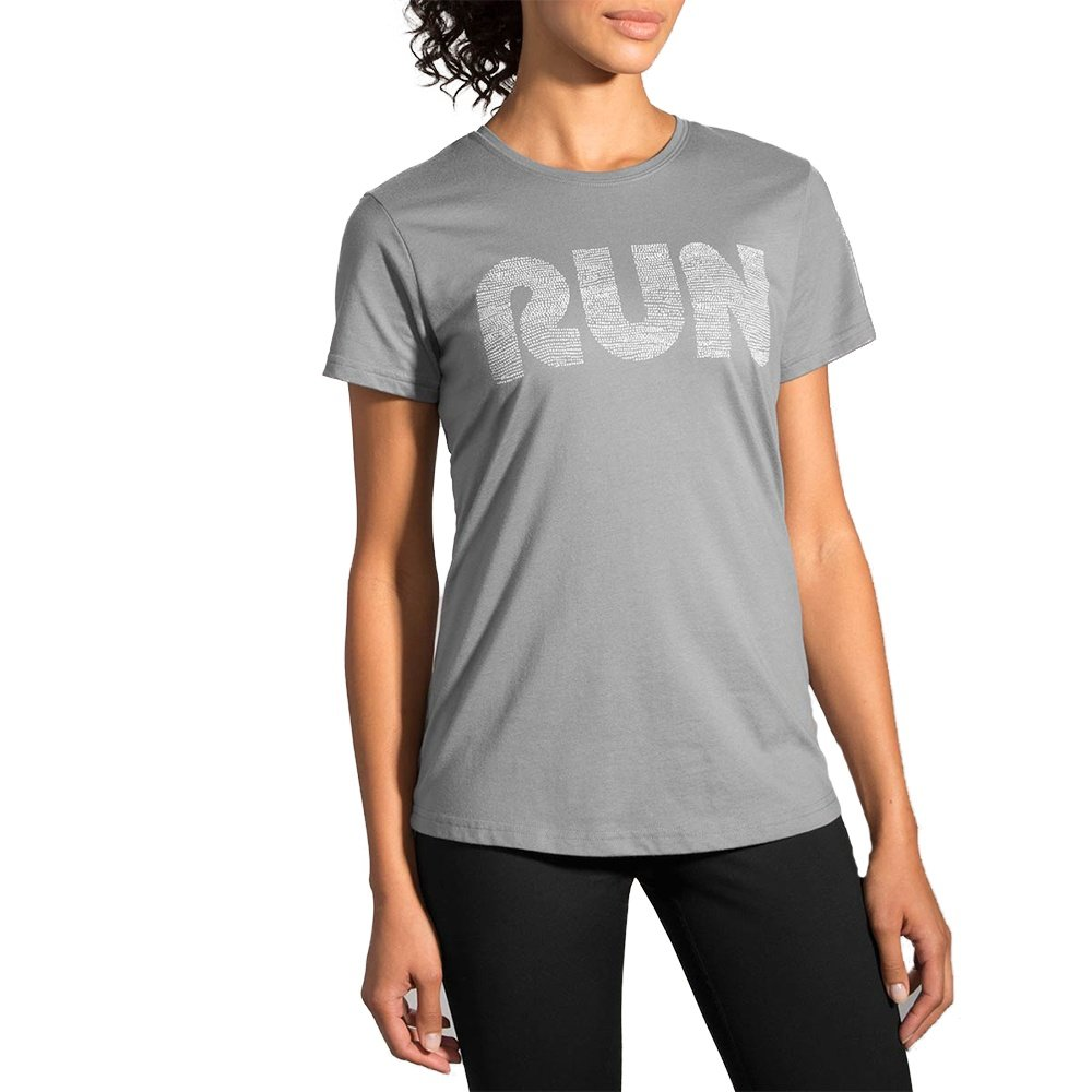 Brooks run mist t shirt women 39 s run appeal for Women s running shirts