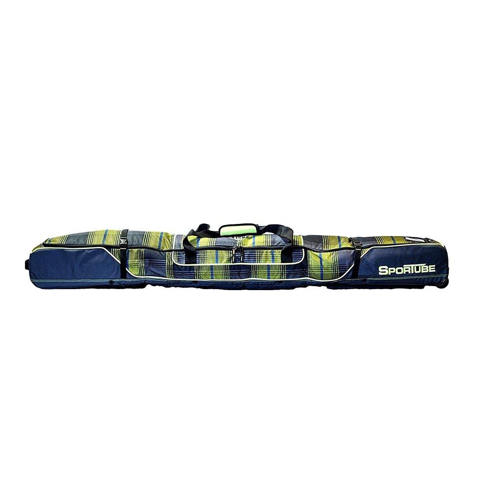 Sportube Ski Shield 2 Double Ski Bag - Green Plaid