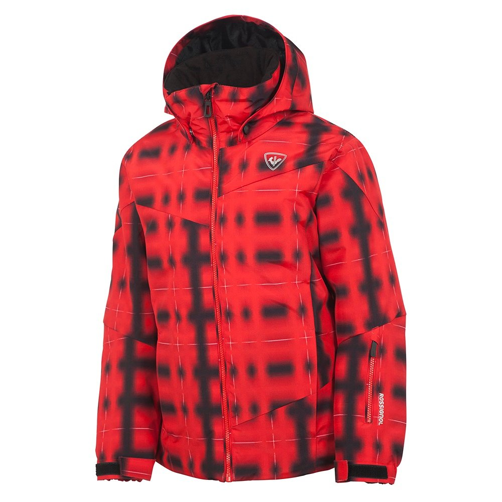 Rossignol Boy Ski PR Insulated Ski Jacket (Boys') - Rossi Checks