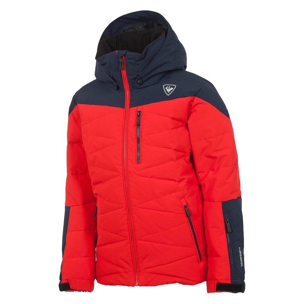 Rossignol Boy Polydown Insulated Ski Jacket Boys -5984