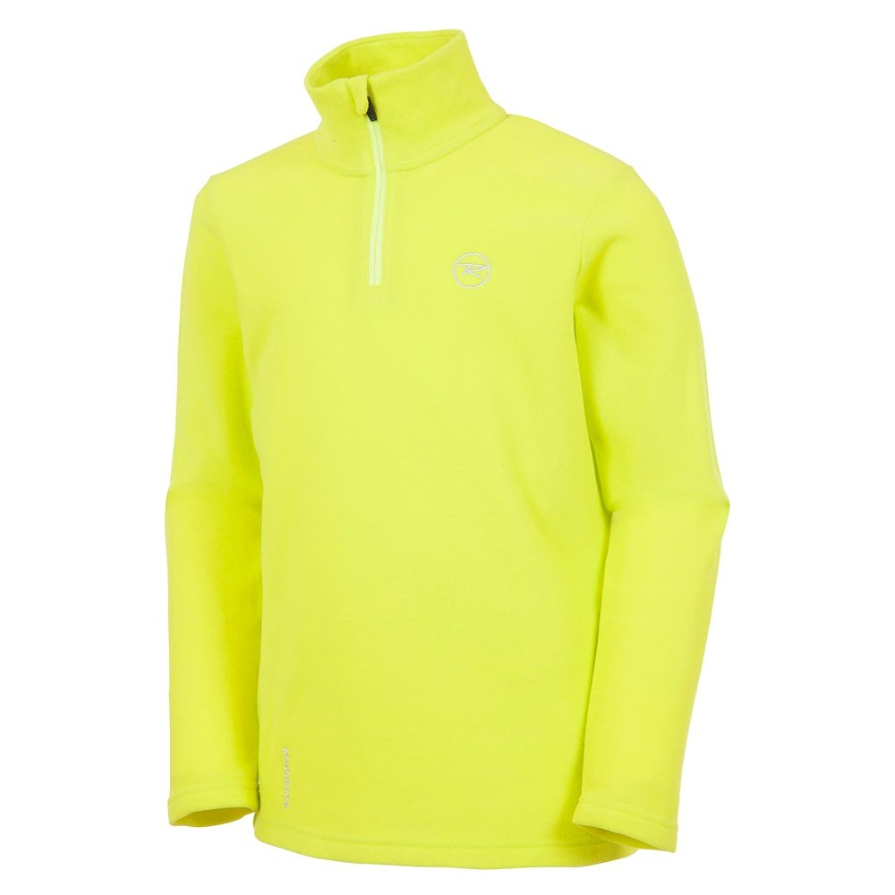 Rossignol Boy 1/2-Zip Fleece Turtleneck Mid-Layer (Boys') - Chartreuse
