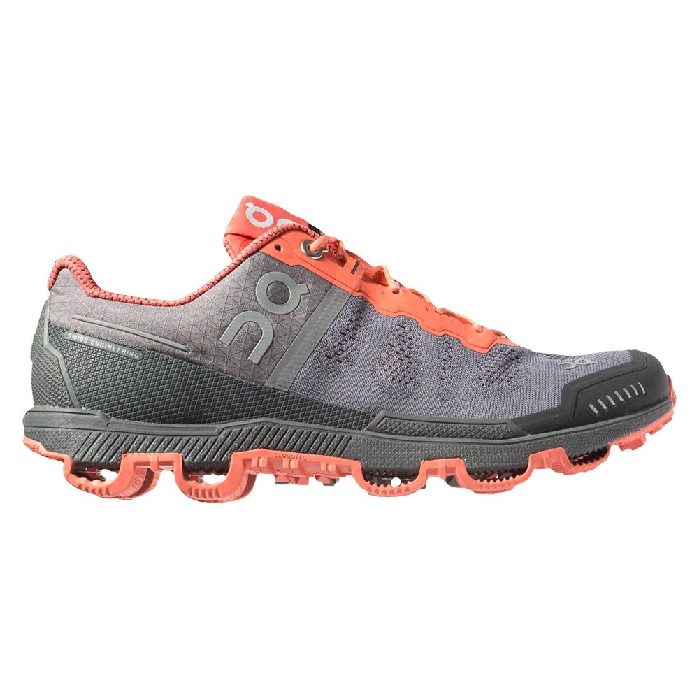 On Cloudventure Running Shoe (Women's) - Grey/Lava