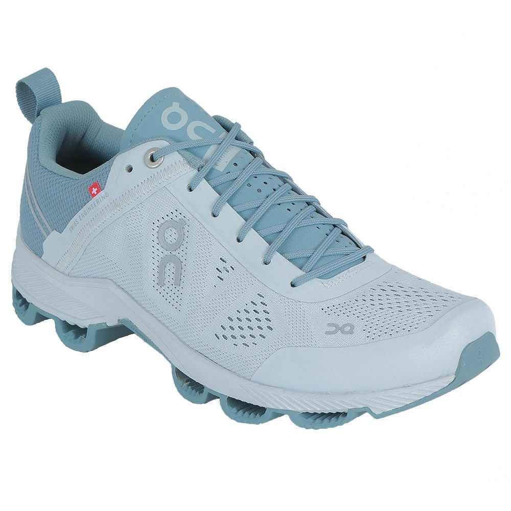 On Cloudsurfer Running Shoe (Women's) - Glacier/White