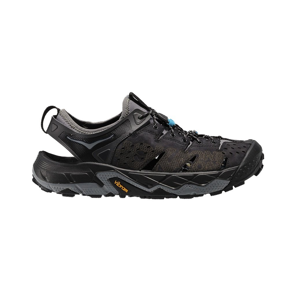 Hoka One One Tor Trafa Sandal (Men's) - Anthracite/Black
