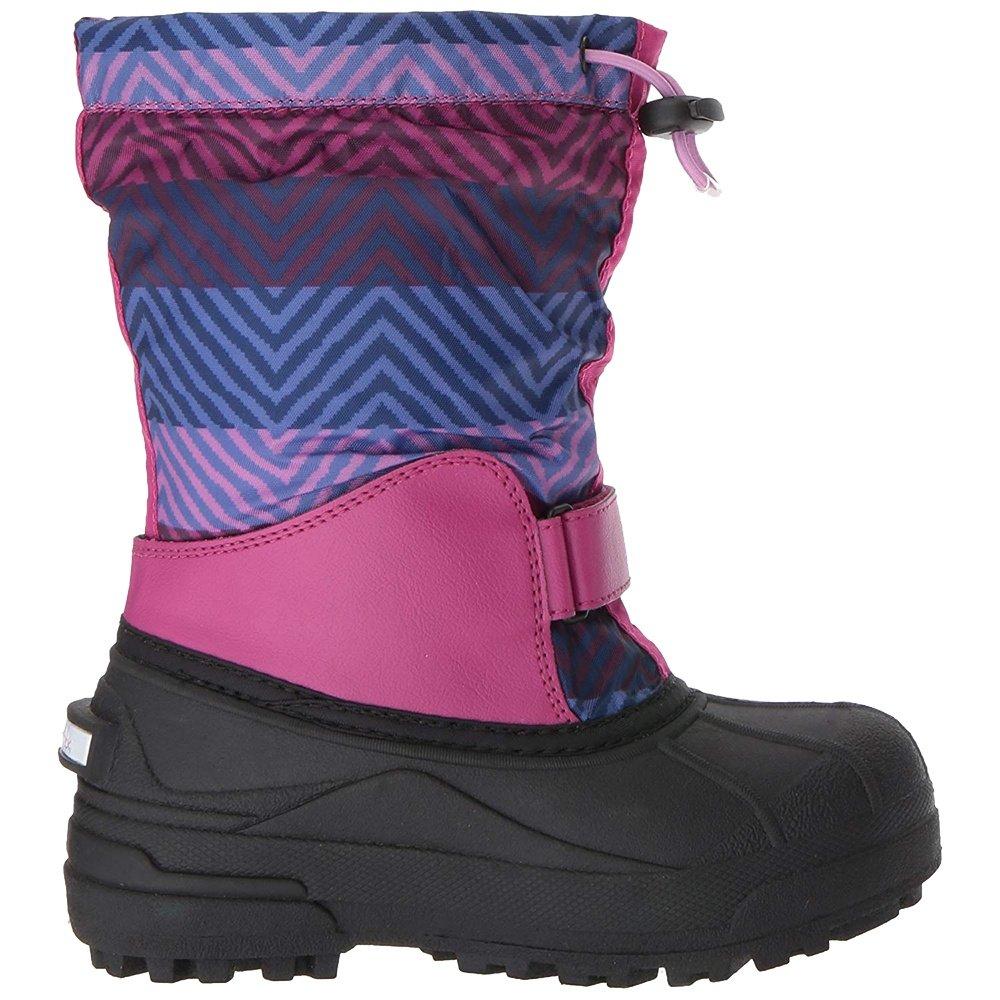Columbia Powderbug Forty Print Winter Boot (Kids') - Deep Blush/Tropic Pink