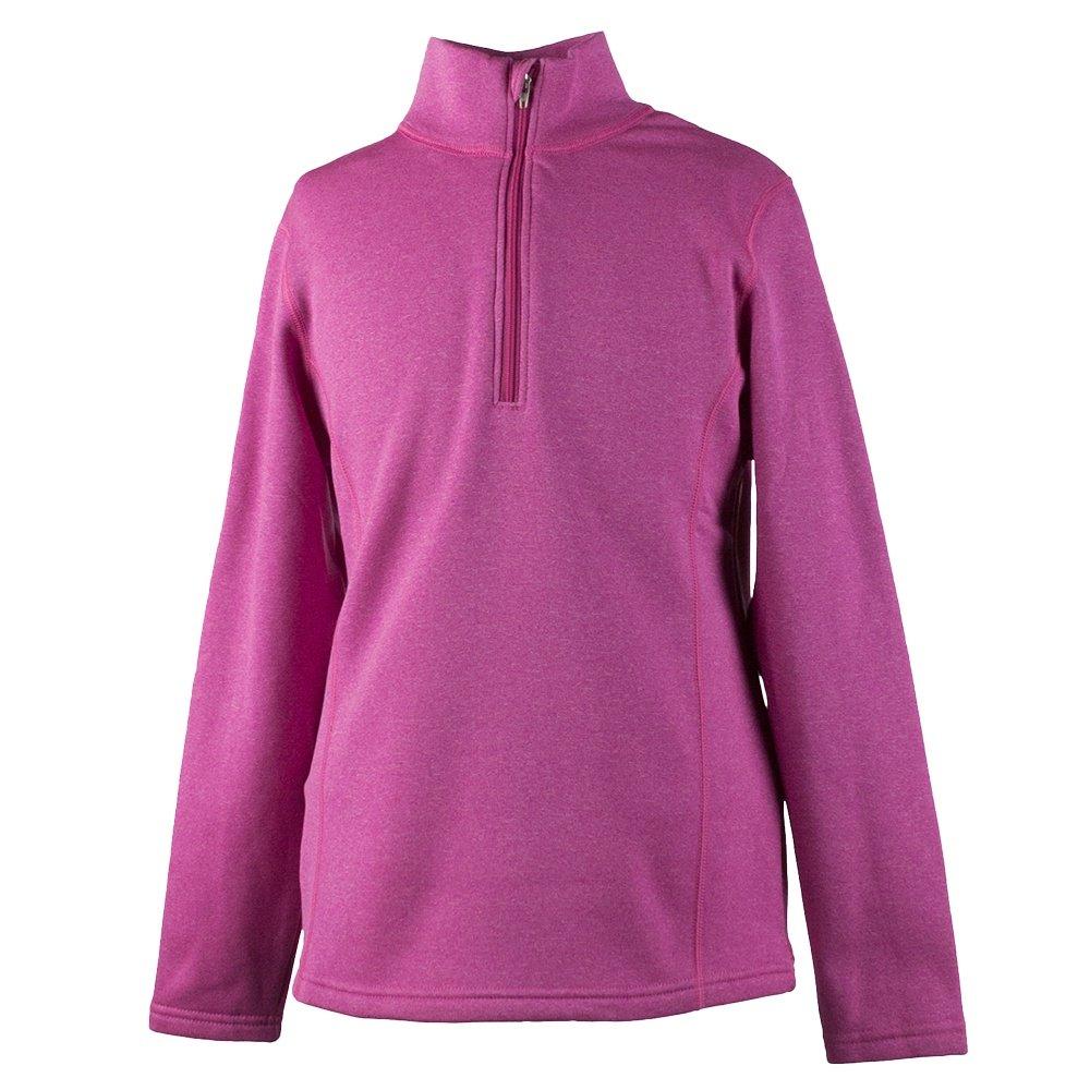 Obermeyer Solace 150 wt US Turtleneck Mid-Layer (Girls')  - Hot Pink