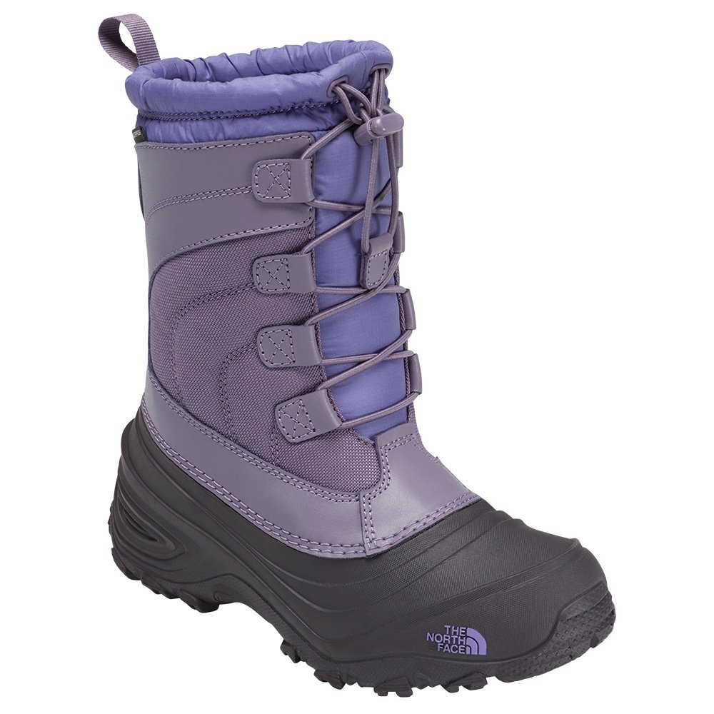 The North Face Alpenglow IV Boot (Kids') - Purple Sage/Dahlia Purple