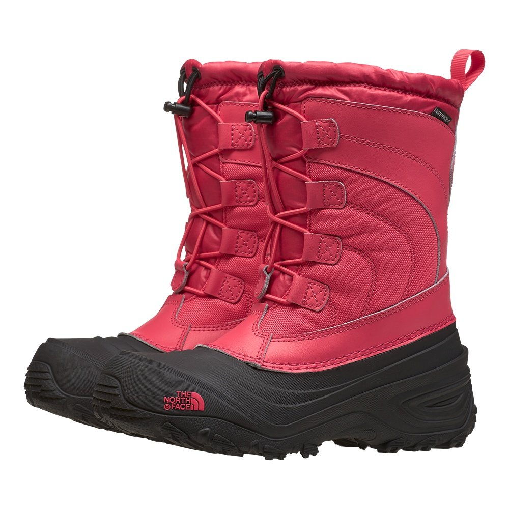 The North Face Alpenglow IV Boot (Kids') - Paradise Pink/TNF Black