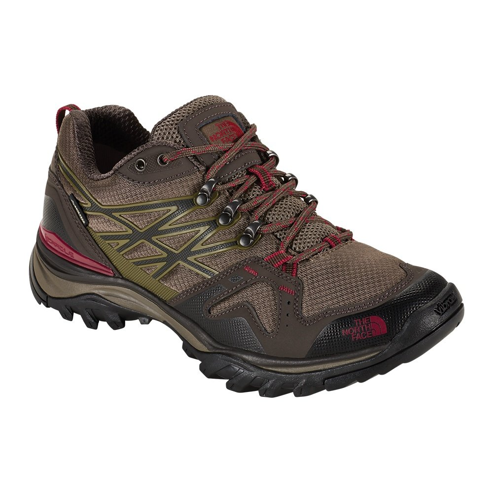 The North Face Hedgehog Fastpack GORE-TEX Hiking Boot (Men's) - Coffee Brown/Rosewood Red