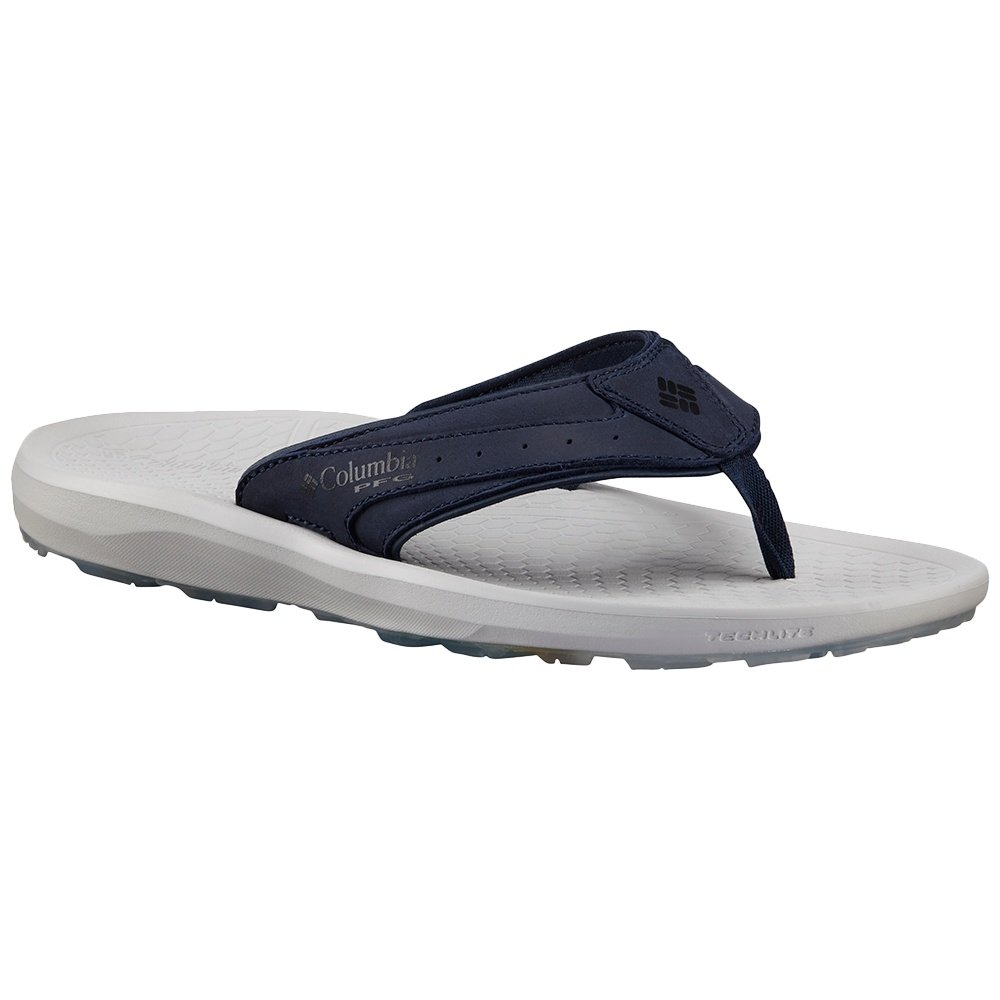 Columbia Techsun Flip PFG Sandal (Men's) - Collegiate Navy/Oyster