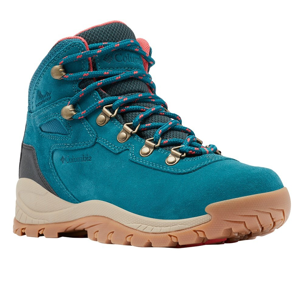 Columbia Newton Ridge Plus Waterproof Amped Hiking Boot (Women's) - Deep Wave