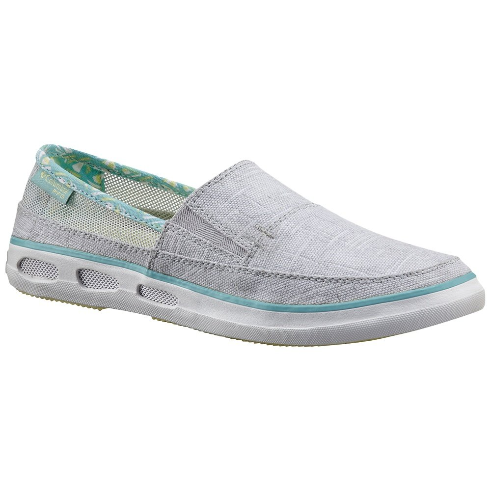 Columbia Vulc N Vent Slip Outdoor PFG Shoe (Women's) - Cool Grey/Spring Yellow
