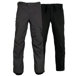 Charcoal/Gray 686 Smarty 3-in-1 Cargo Snowboard Pant (Men\'s)