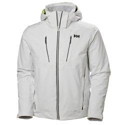 White Helly Hansen Alpha 3.0 Ski Jacket (Men\'s)
