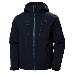 Navy Helly Hansen Alpha 3.0 Ski Jacket (Men\'s)
