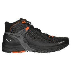 Black/Holland Salewa Ultra Flex Mid GORE-TEX Boots (Men\'s)