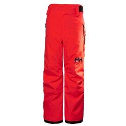 Neon Coral Helly Hansen Legendary Ski Pant (Kids\')