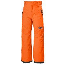 Neon Orange Helly Hansen Legendary Ski Pant (Kids\')