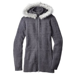 Medium Gray Heather SmartWool Crestone Hooded Sweatshirt (Women\'s)