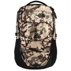 Burnt Olive Green Digi Topo Print/TNF Black The North Face Borealis Backpack (Men\'s)
