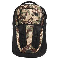 Burnt Olive Green Digi Topo Print/TNF Black The North Face Recon Backpack (Men\'s)
