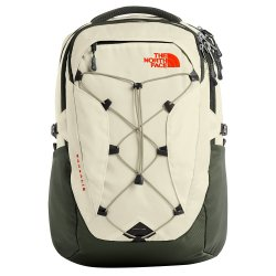 Vintage White/New Taupe Green The North Face Borealis Backpack (Women\'s)