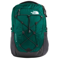 Evergreen/Asphalt Grey The North Face Borealis Backpack (Women\'s)
