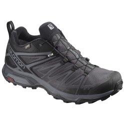 Black Salomon X Ultra 3 GORE-TEX Trail Running Shoe (Men\'s)