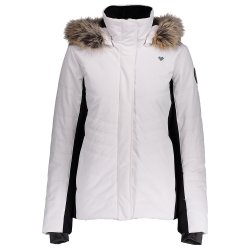 White Obermeyer Tuscany II Insulated Ski Jacket (Women\'s)