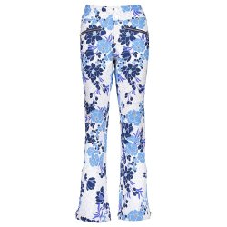 Efflorescent Ice Garden Print Obermeyer Printed Clio Softshell Ski Pant (Women\'s)