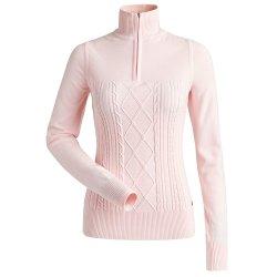 Light Pink Nils Michelle 1/4-Zip Sweater (Women\'s)