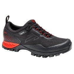 Black/Rich Lava Tecnica Plasma S GORE-TEX Hiking Boot (Men\'s)